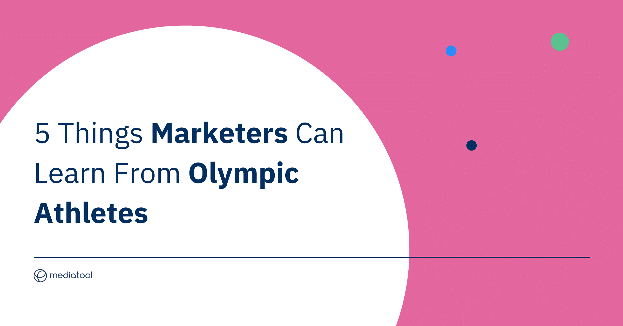 5 Things Marketers Can Learn From Olympic Athletes