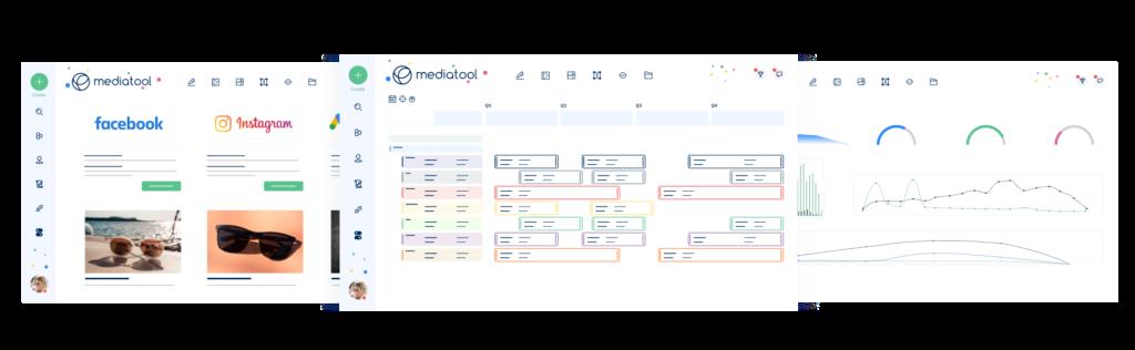 media management software dashboards